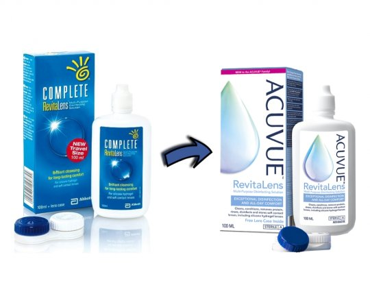 Acuvue Revitalens Travel-Size 100ml
