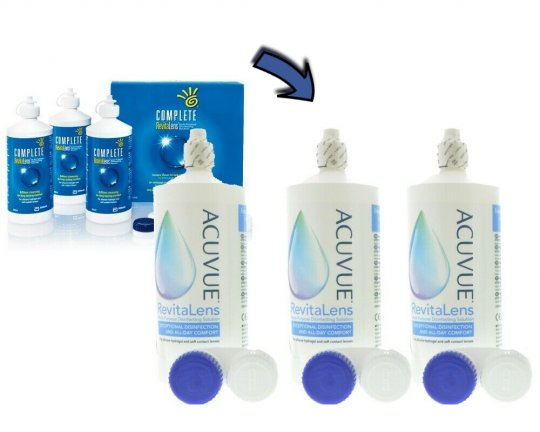 Acuvue Revitalens 3x360ml - MHD 10/2021