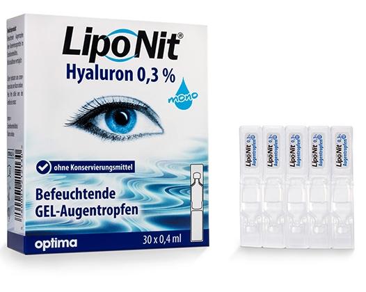 Lipo Nit Hyaluron 0,3% mono Augentropfen/Benetzung - 30x0,4ml
