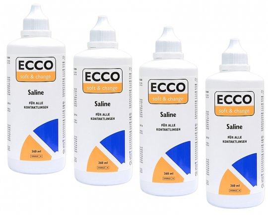 ECCO Soft&Change Saline Kochsalzlösung 4x360ml
