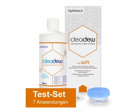 Cleadew for Soft 90ml + 7 Tabletten