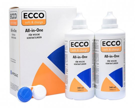 ECCO Soft & Change  All-in-One 2x360ml