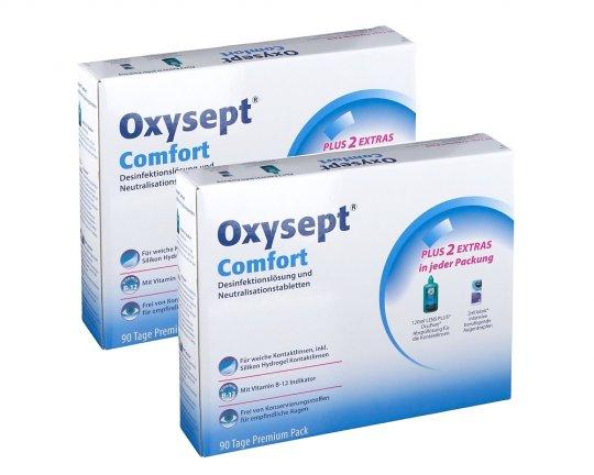 Oxysept Comfort 2 x Premiumpack