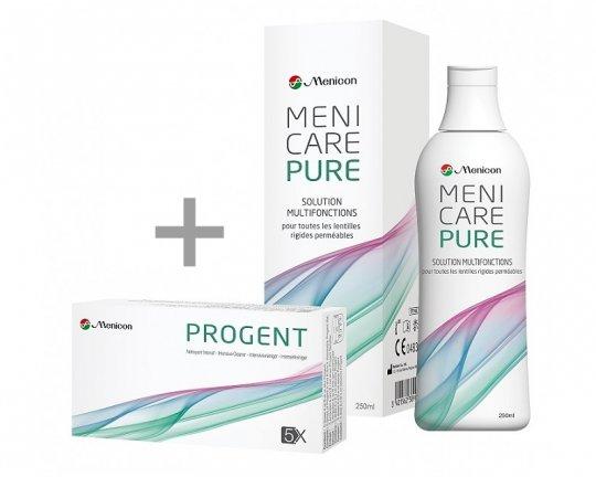 MeniCare Pure 250ml + 1xProgent Intensivreiniger