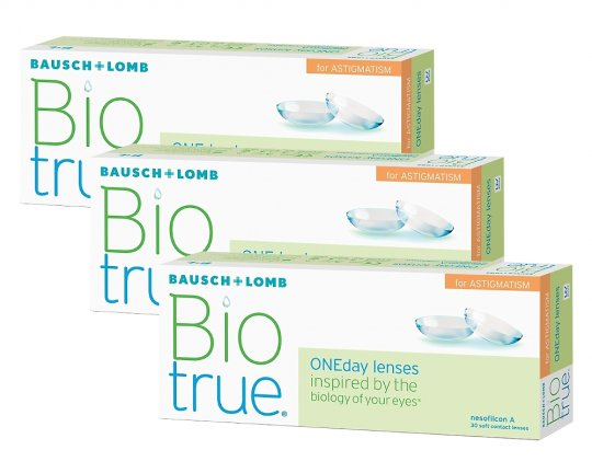 Biotrue ONEday for Astigmatism 90er-Pack