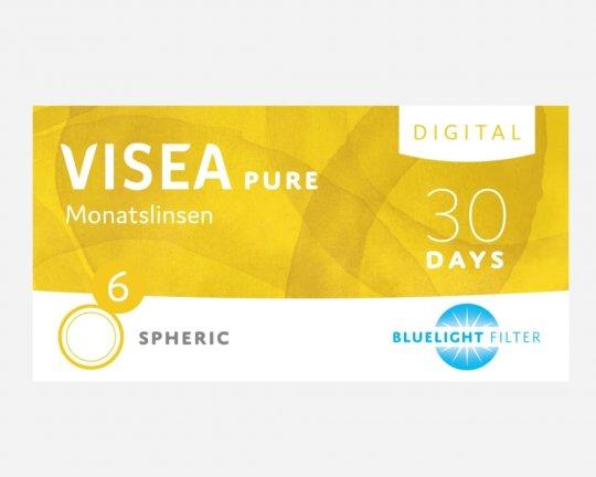 VISEA Pure Digital Spheric (mit Blaulichtfilter) 6er-Pack