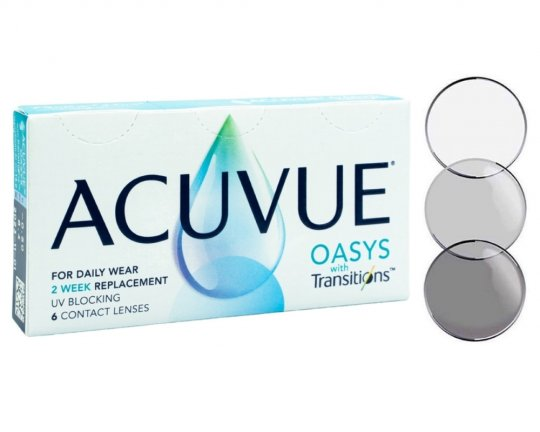 Acuvue Oasys with Transitions 6er-Pack