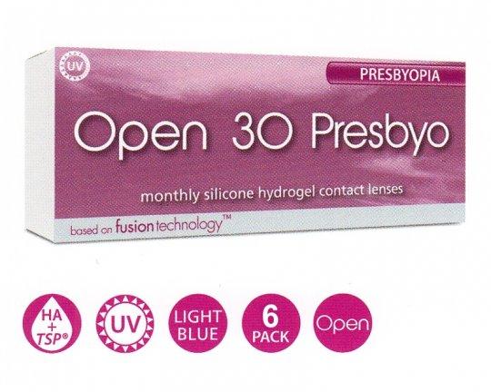 Open 30 presbyo - 6er-Pack