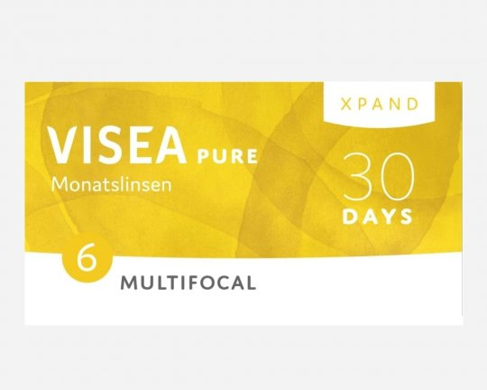 VISEA Pure Xpand Monatslinsen Multifocal 6er-Pack