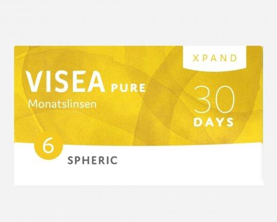 VISEA Pure Xpand Monatslinsen Spheric 6er-Pack
