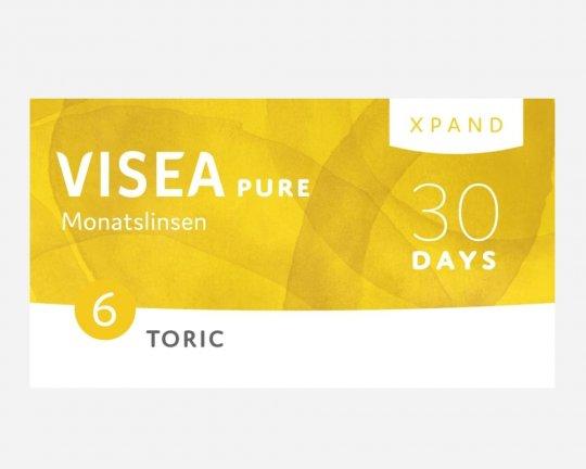 VISEA Pure Xpand Monatslinsen Toric 6er-Pack