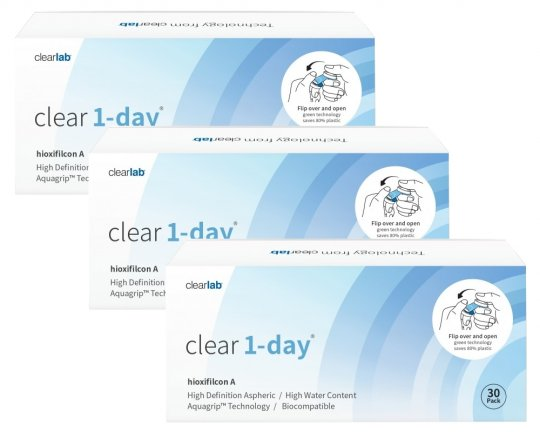 Clear 1-Day (Clearlab) 90er-Pack