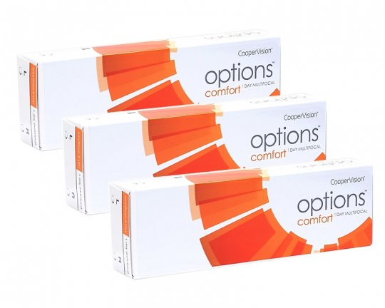 Options Comfort 1-Day Multifocal 90er-Pack