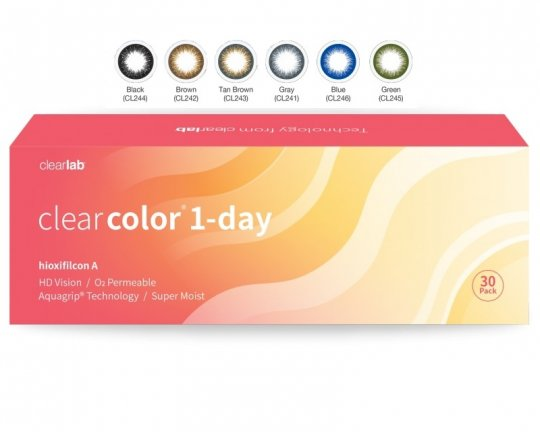 Clearcolor 1-Day 30er-Pack