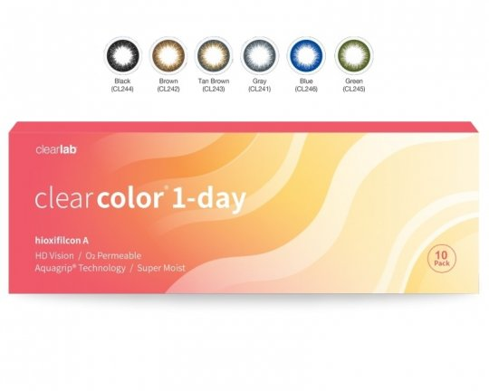 Clearcolor 1-Day 10er-Pack