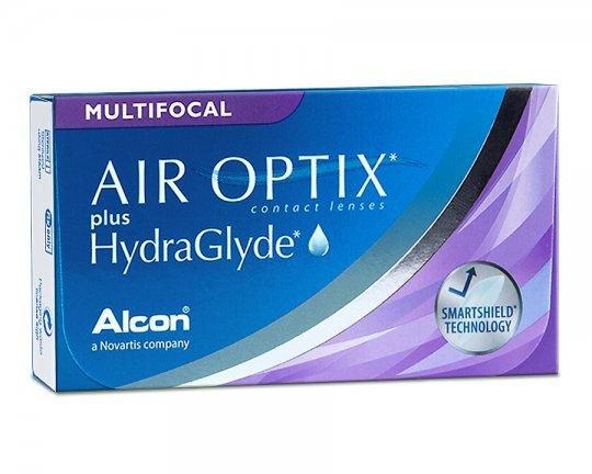 Air Optix plus HydraGlyde Multifocal 3er-Pack