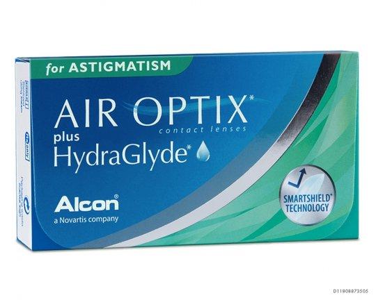 Air Optix plus HydraGlyde for Astigmatism 3er-Pack