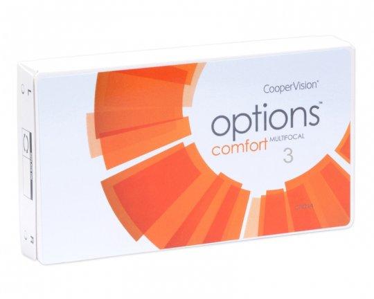 Options Comfort Multifocal 3er-Pack