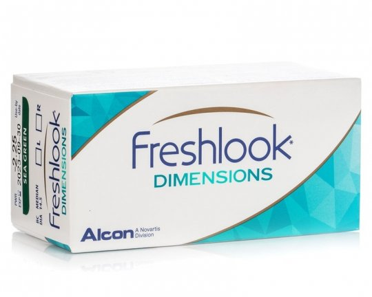 FreshLook Dimensions 2er-Pack (ohne Stärke)