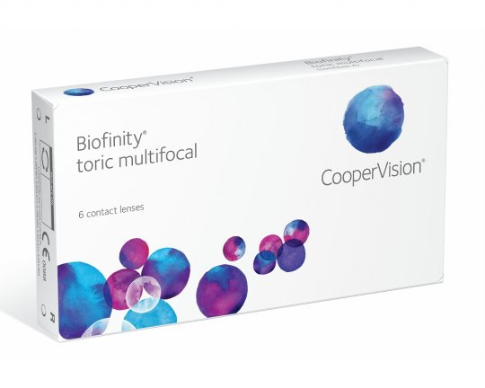 Biofinity Toric Multifocal - 1 Stück