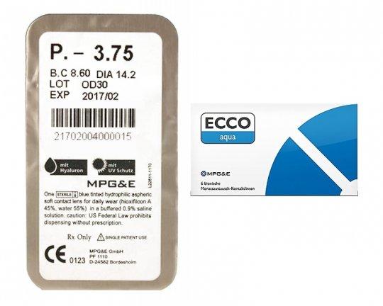 ECCO aqua - 1 Stück