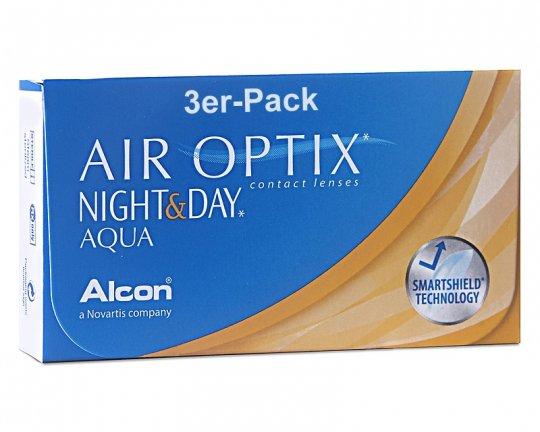 Air Optix Night+Day AQUA 3er-Pack