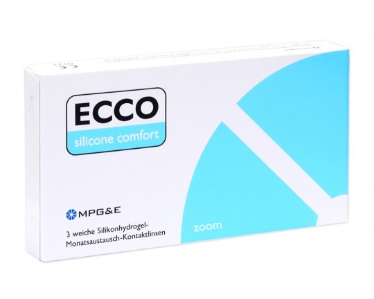 ECCO Silicone Comfort Zoom 3er-Pack