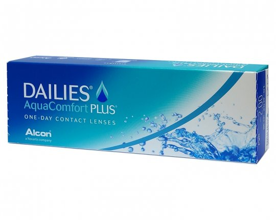 DAILIES AquaComfort Plus 30er-Pack