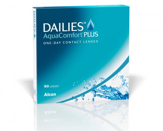 DAILIES AquaComfort Plus 90er-Pack