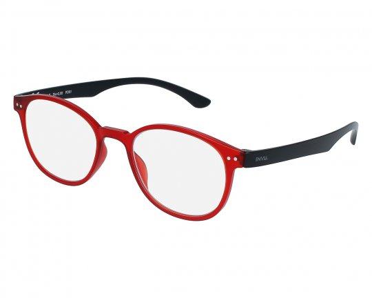 INVU Blaulichtfilterbrille B6024J - rot/schwarz