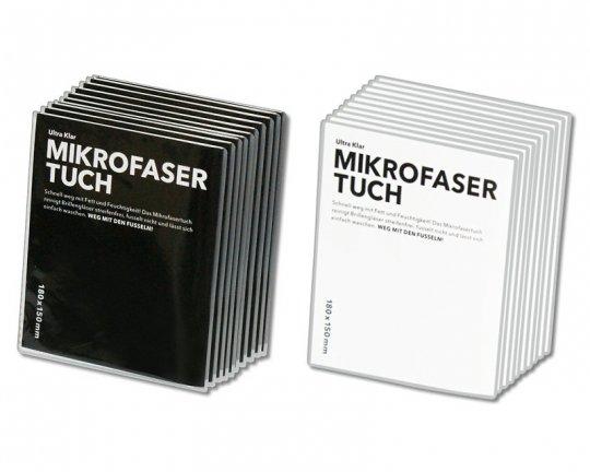 Mikrofaser Brillenputztuch Ultra Klar - 18x15cm