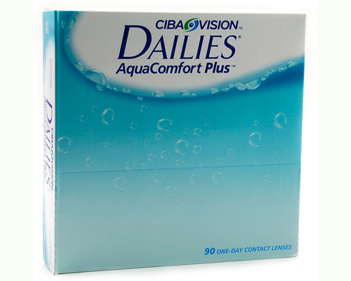 Focus Dailies Aqua Comfort PLUS 90er-Pack