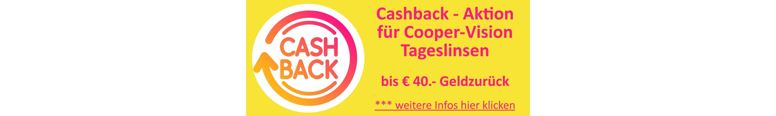 Startseite Banner: Cashback